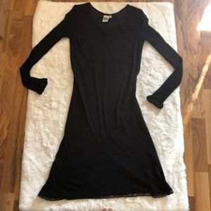 Johnny was collection semi sheer dress size Medium